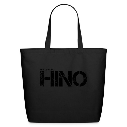 Hollywood Hino Text - Eco-Friendly Cotton Tote