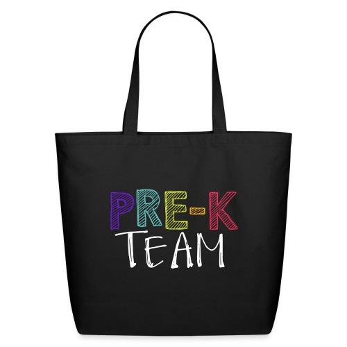 Pre-K Team Grade Level Team Teacher T-Shirts - Eco-Friendly Cotton Tote