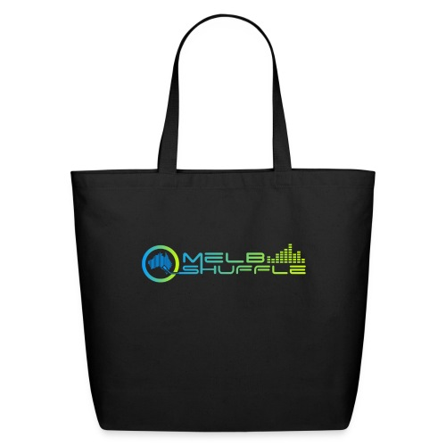 Melbshuffle Gradient Logo - Eco-Friendly Cotton Tote