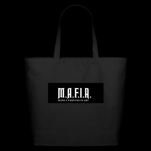 Classic Mafia Logo Black - Eco-Friendly Cotton Tote