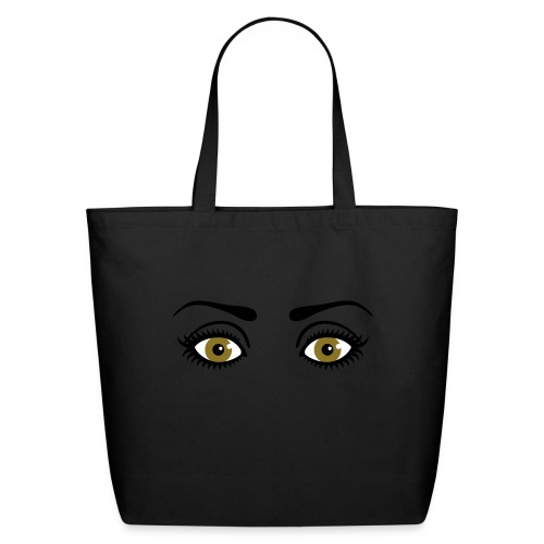 Eyes Wide Open - Eco-Friendly Cotton Tote