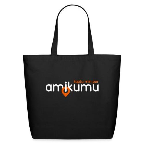 Kaptu min per Amikumu Blanka - Eco-Friendly Cotton Tote