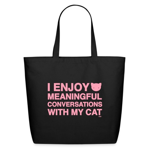 Meaningful Conversations - Eco-Friendly Cotton Tote