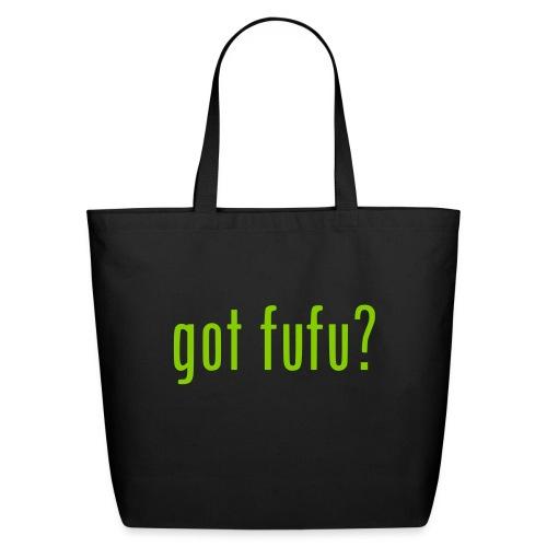 gotfufu-black - Eco-Friendly Cotton Tote