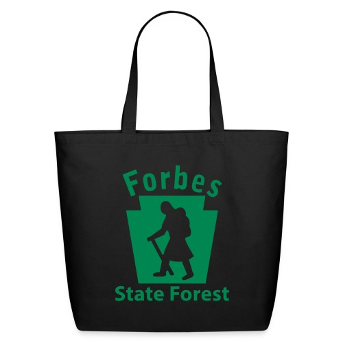 Forbes State Forest Keystone Hiker female - Eco-Friendly Cotton Tote