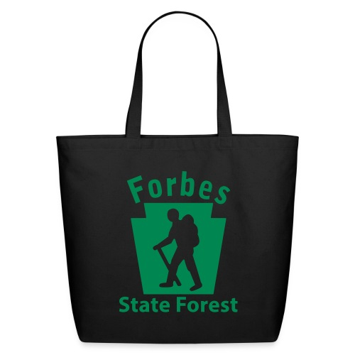 Forbes State Forest Keystone Hiker male - Eco-Friendly Cotton Tote