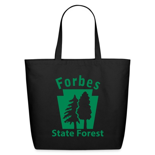 Forbes State Forest Keystone (w/trees) - Eco-Friendly Cotton Tote
