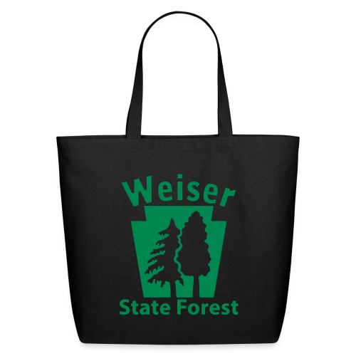 Weiser State Forest Keystone (w/trees) - Eco-Friendly Cotton Tote