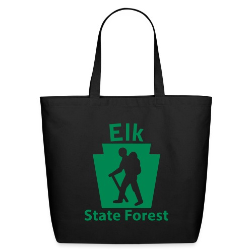 Elk State Forest Keystone Hiker male - Eco-Friendly Cotton Tote