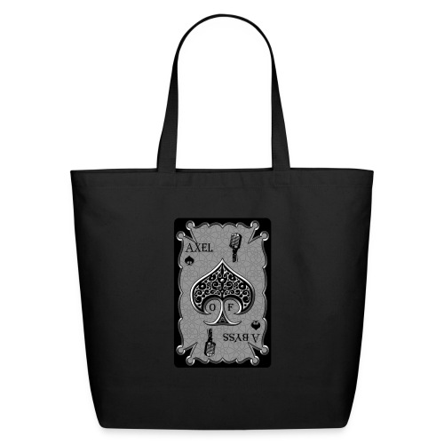 Axelofabyss Spade Card - Eco-Friendly Cotton Tote