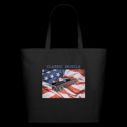 CLASSIC MUSCLE - Eco-Friendly Cotton Tote