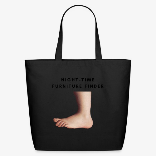 Night-Time Furniture Finder - Eco-Friendly Cotton Tote