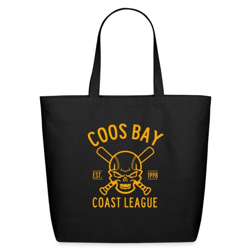 Coos Bay Coast League 1-color Gold - Eco-Friendly Cotton Tote