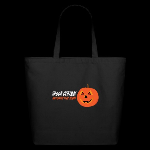 Spook Central, Halloween Year Round - Eco-Friendly Cotton Tote
