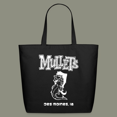 mulletmain white - Eco-Friendly Cotton Tote