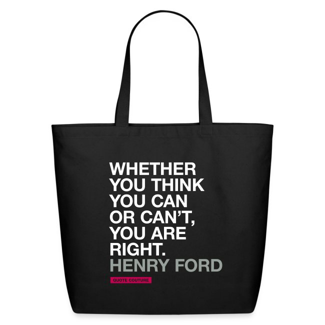 Whether you think you can (bags -- big)