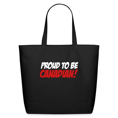 Proud Canadian - Eco-Friendly Cotton Tote