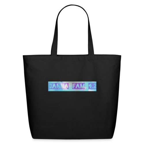 Canna fams #3 design - Eco-Friendly Cotton Tote