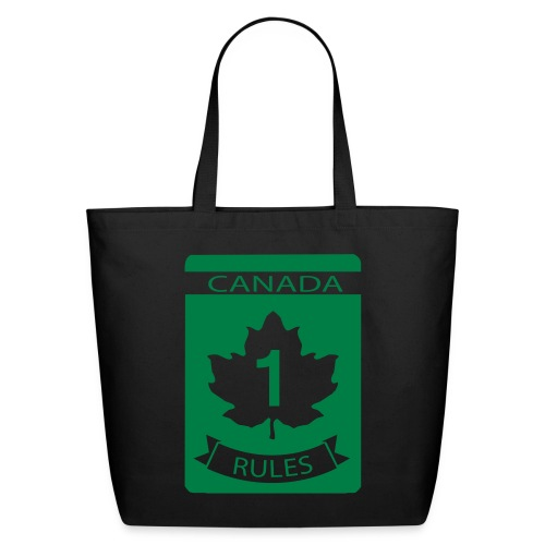 Canada Rules - Eco-Friendly Cotton Tote