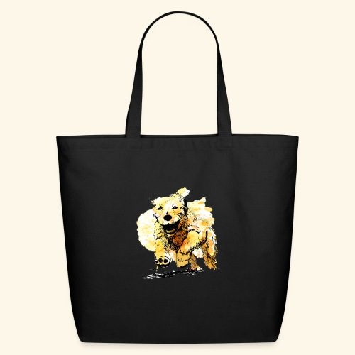oil dog - Eco-Friendly Cotton Tote