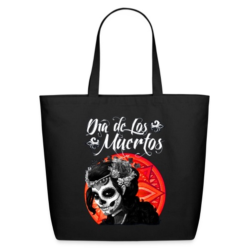 Dia de Los Muertos 01 - Eco-Friendly Cotton Tote