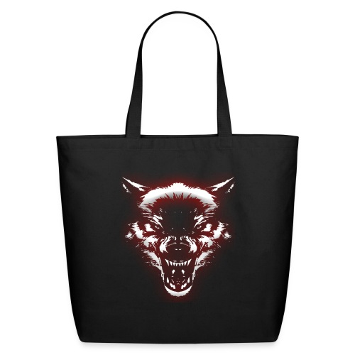 Angry Wolf - Eco-Friendly Cotton Tote