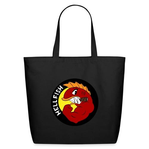 Hellfish - Flying Hellfish - Eco-Friendly Cotton Tote