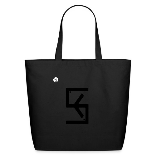 Soft Kore Logo Black - Eco-Friendly Cotton Tote