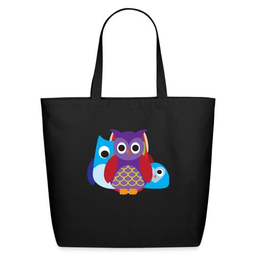 Cute Owls Eyes - Eco-Friendly Cotton Tote