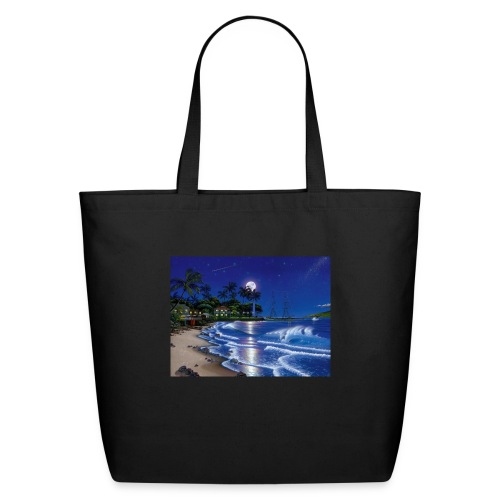 full moon - Eco-Friendly Cotton Tote