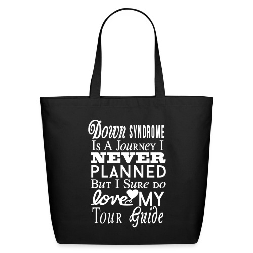 Down syndrome Journey - Eco-Friendly Cotton Tote