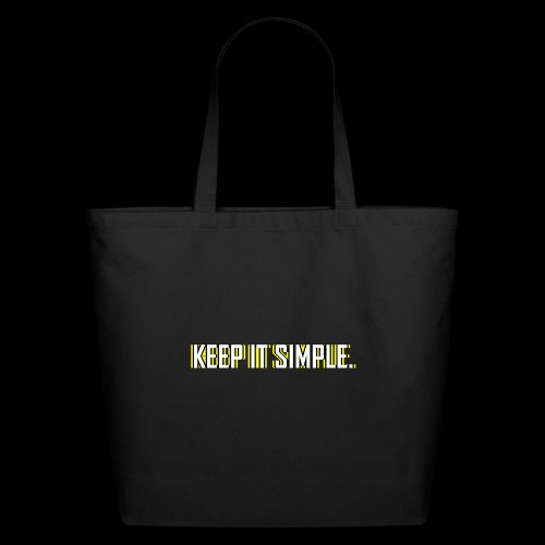 Keep It Simple - Eco-Friendly Cotton Tote