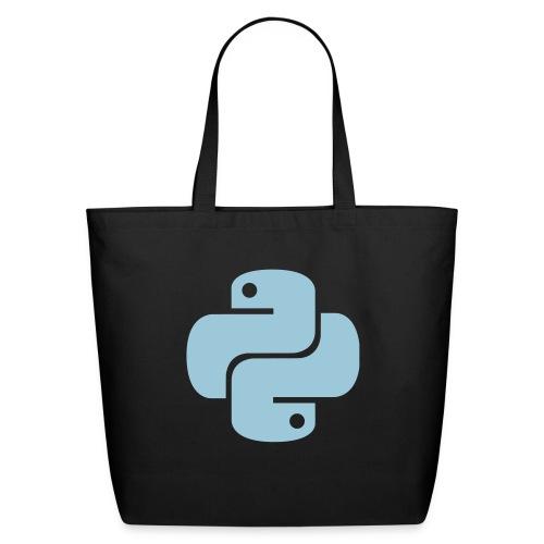 Python Logo - Eco-Friendly Cotton Tote