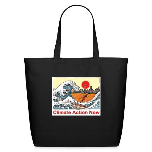 T shirt Wave - Eco-Friendly Cotton Tote