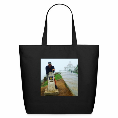 Camino 0.00 KM Backpacker Mike - Eco-Friendly Cotton Tote