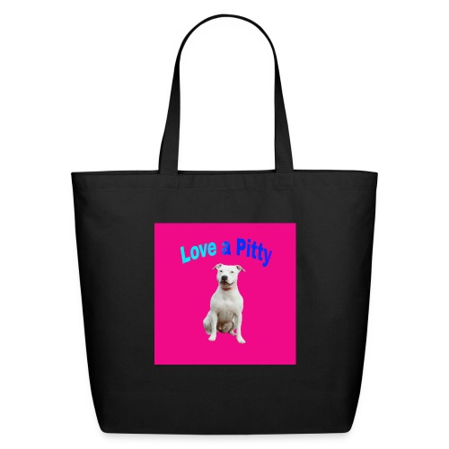 Pink Pit Bull - Eco-Friendly Cotton Tote
