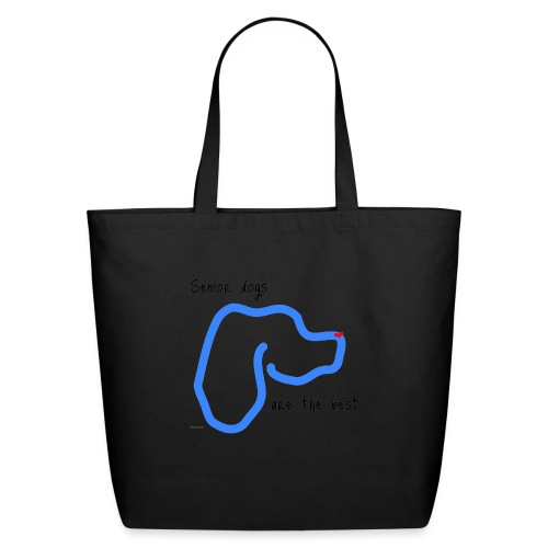 Senior Dogs are the Best - Eco-Friendly Cotton Tote