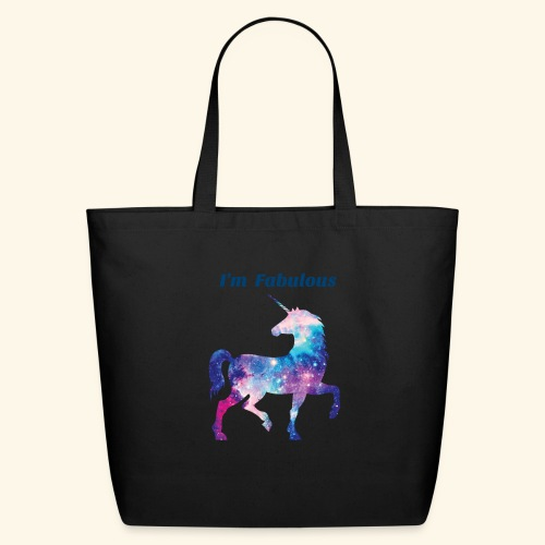 I'm Fabulous Unicorn - Eco-Friendly Cotton Tote