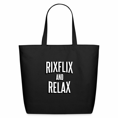 RixFlix and Relax - Eco-Friendly Cotton Tote