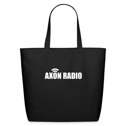 Axon Radio | White night apparel. - Eco-Friendly Cotton Tote