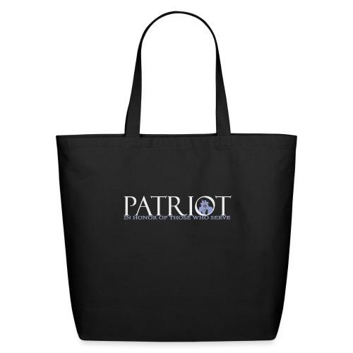 PATRIOT-SAM-USA-LOGO-REVERSE - Eco-Friendly Cotton Tote
