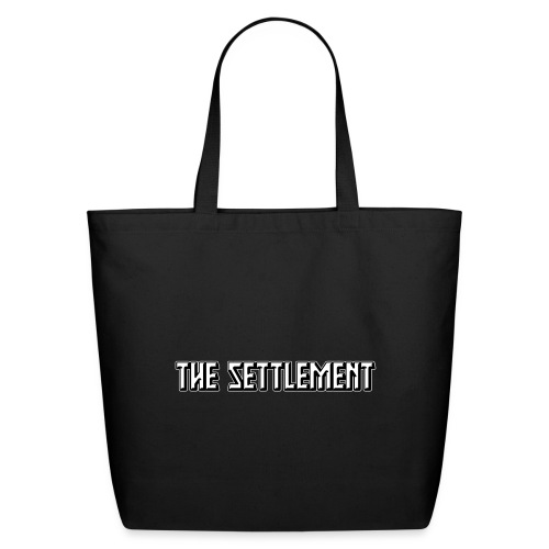 Band Name (Two-Color) | The Settlement - Eco-Friendly Cotton Tote