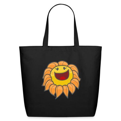 Happy sunflower - Eco-Friendly Cotton Tote