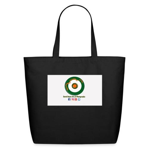 David Doyle Arts & Photography Logo - Eco-Friendly Cotton Tote