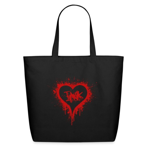 I Love Ink_red - Eco-Friendly Cotton Tote
