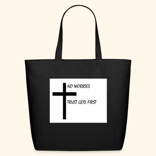 No Worries - Eco-Friendly Cotton Tote
