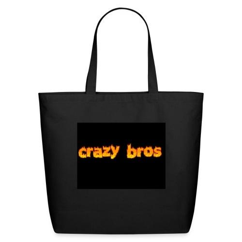 Crazy Bros logo - Eco-Friendly Cotton Tote