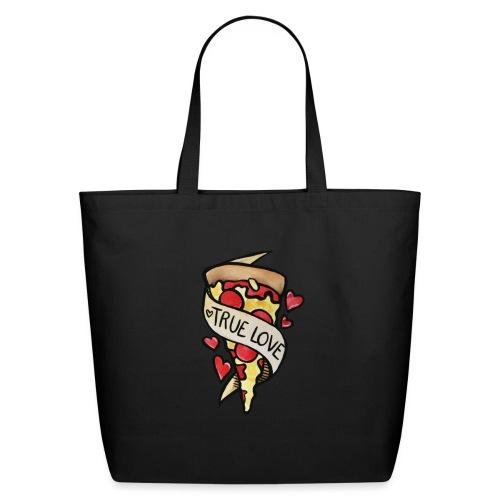 Pizza true love - Eco-Friendly Cotton Tote