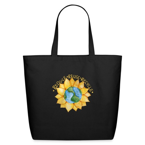 Reduce reuse recycle - Eco-Friendly Cotton Tote