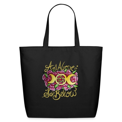 As above so below - Eco-Friendly Cotton Tote
